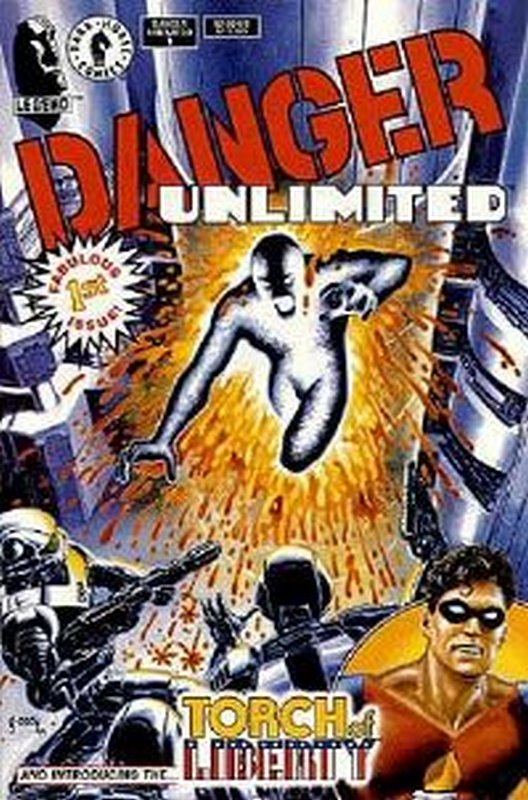 Cover of Danger Unlimited (1994 Ltd) #1. One of 250,000 Vintage American Comics on sale from Krypton!