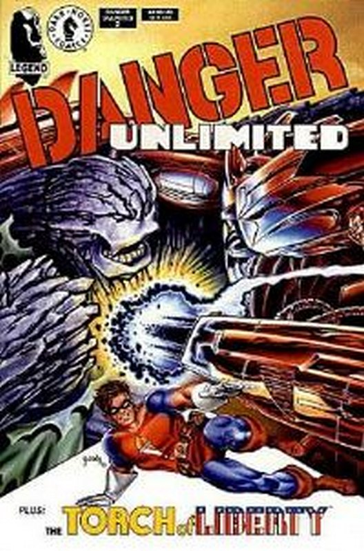 Cover of Danger Unlimited (1994 Ltd) #2. One of 250,000 Vintage American Comics on sale from Krypton!