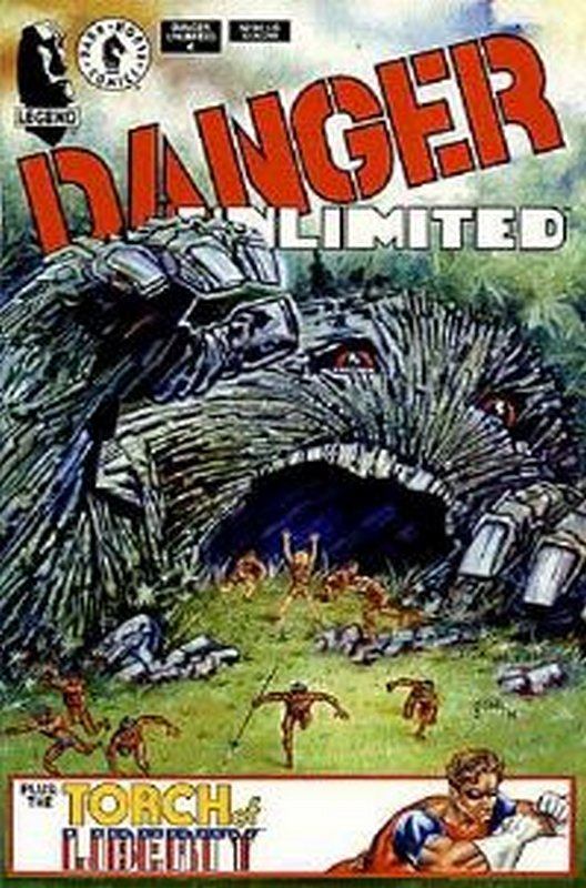 Cover of Danger Unlimited (1994 Ltd) #4. One of 250,000 Vintage American Comics on sale from Krypton!