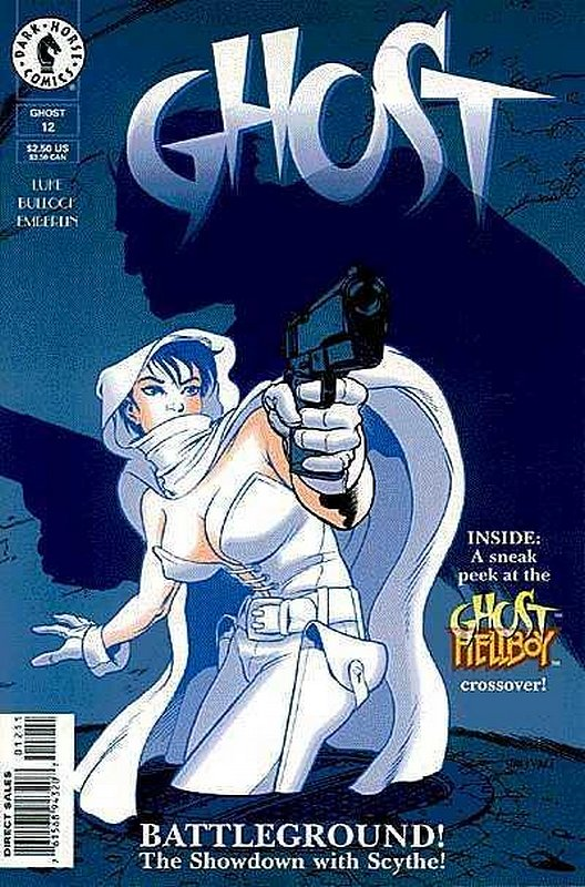 Cover of Ghost (Vol 1) (Dark Horse) #12. One of 250,000 Vintage American Comics on sale from Krypton!