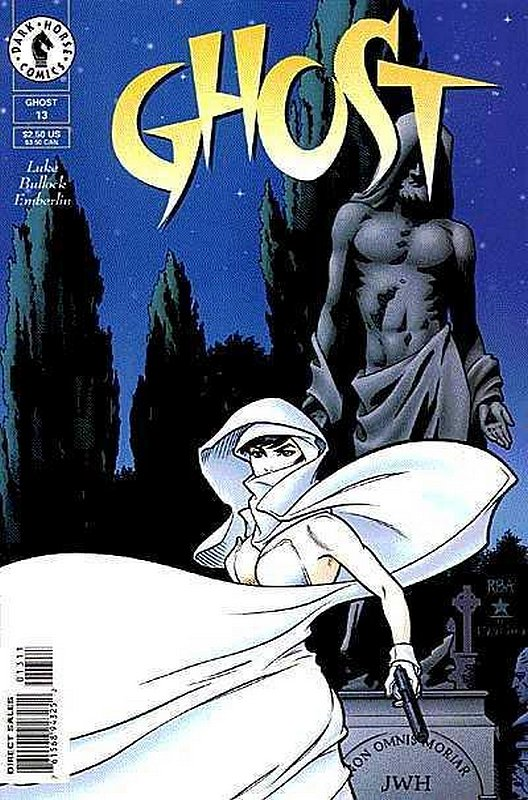 Cover of Ghost (Vol 1) (Dark Horse) #13. One of 250,000 Vintage American Comics on sale from Krypton!