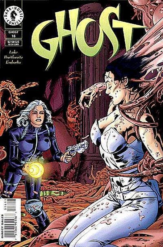 Cover of Ghost (Vol 1) (Dark Horse) #16. One of 250,000 Vintage American Comics on sale from Krypton!
