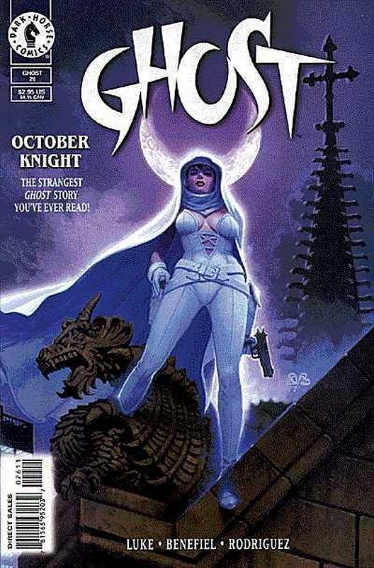 Cover of Ghost (Vol 1) (Dark Horse) #26. One of 250,000 Vintage American Comics on sale from Krypton!