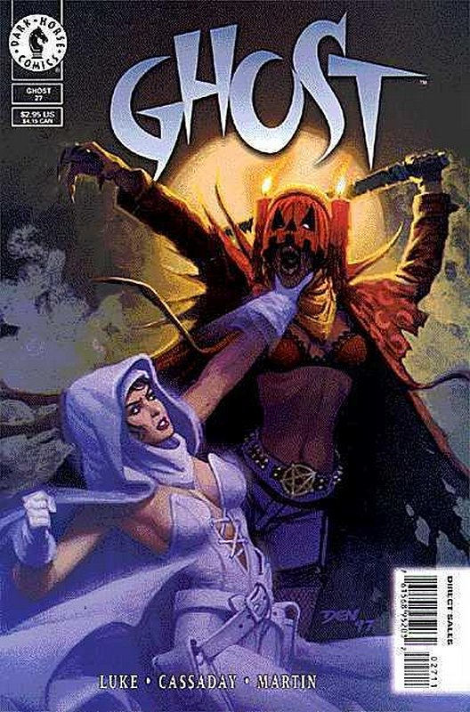 Cover of Ghost (Vol 1) (Dark Horse) #27. One of 250,000 Vintage American Comics on sale from Krypton!