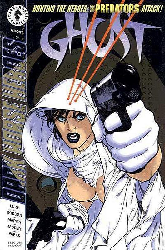 Cover of Ghost (Vol 1) (Dark Horse) #5. One of 250,000 Vintage American Comics on sale from Krypton!