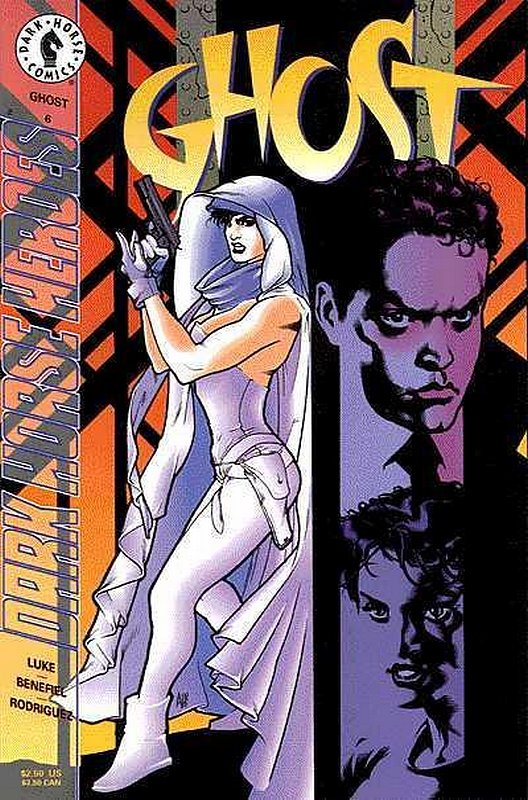 Cover of Ghost (Vol 1) (Dark Horse) #6. One of 250,000 Vintage American Comics on sale from Krypton!