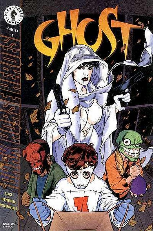 Cover of Ghost (Vol 1) (Dark Horse) #7. One of 250,000 Vintage American Comics on sale from Krypton!