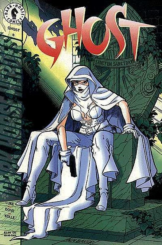 Cover of Ghost (Vol 1) (Dark Horse) #8. One of 250,000 Vintage American Comics on sale from Krypton!