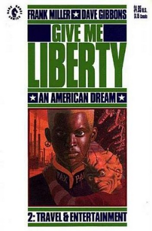 Cover of Give me Liberty (1990 Ltd) #2. One of 250,000 Vintage American Comics on sale from Krypton!