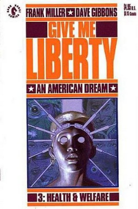 Cover of Give me Liberty (1990 Ltd) #3. One of 250,000 Vintage American Comics on sale from Krypton!