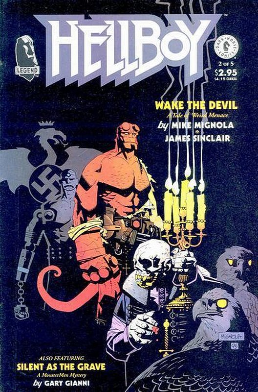 Cover of Hellboy: Wake the Devil (1996 Ltd) #2. One of 250,000 Vintage American Comics on sale from Krypton!