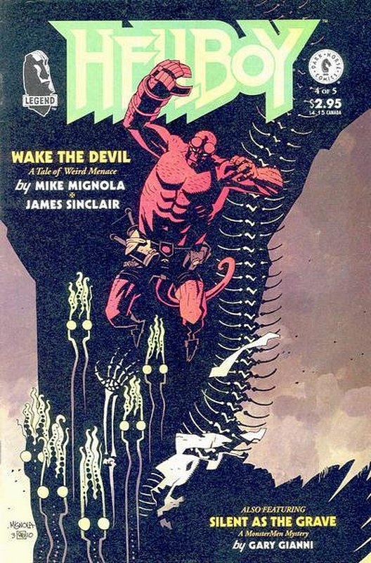 Cover of Hellboy: Wake the Devil (1996 Ltd) #4. One of 250,000 Vintage American Comics on sale from Krypton!