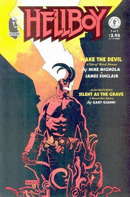 Cover of Hellboy: Wake the Devil (1996 Ltd) #5. One of 250,000 Vintage American Comics on sale from Krypton!