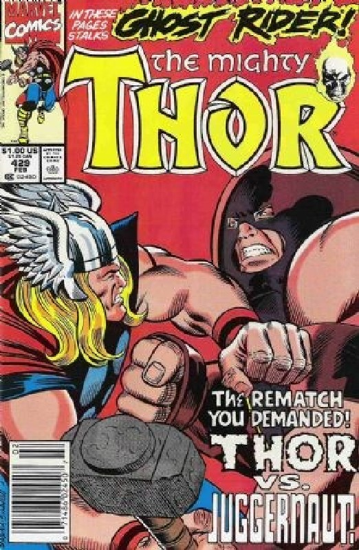 Cover of Thor (Vol 1) #429. One of 250,000 Vintage American Comics on sale from Krypton!