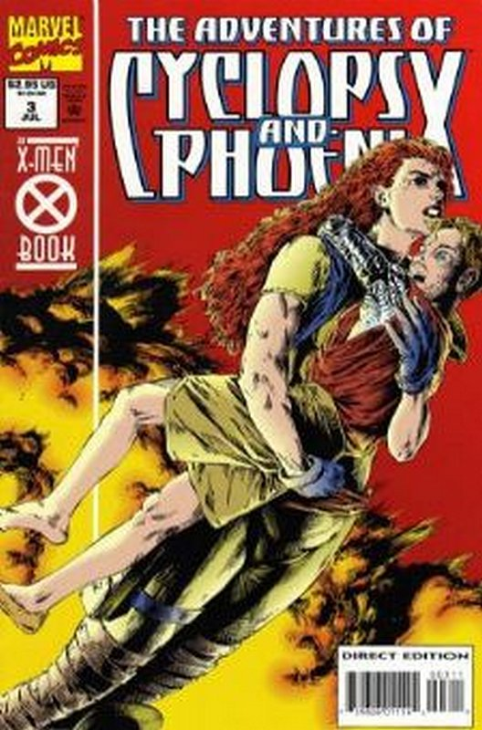 Cover of Cyclops & Phoenix, The  Adventures of #3. One of 250,000 Vintage American Comics on sale from Krypton!