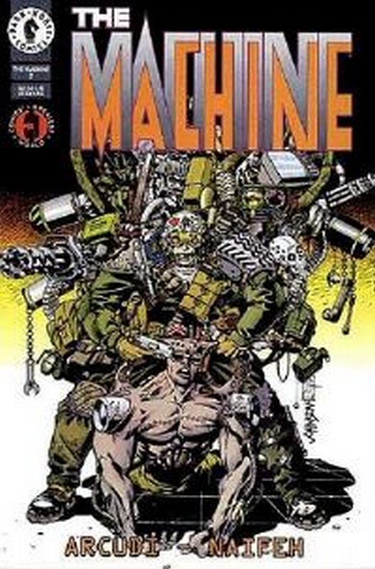 Cover of Machine (1994 Ltd) The #2. One of 250,000 Vintage American Comics on sale from Krypton!