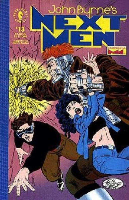 Cover of Next Men (Vol 1) John Byrnes #13. One of 250,000 Vintage American Comics on sale from Krypton!