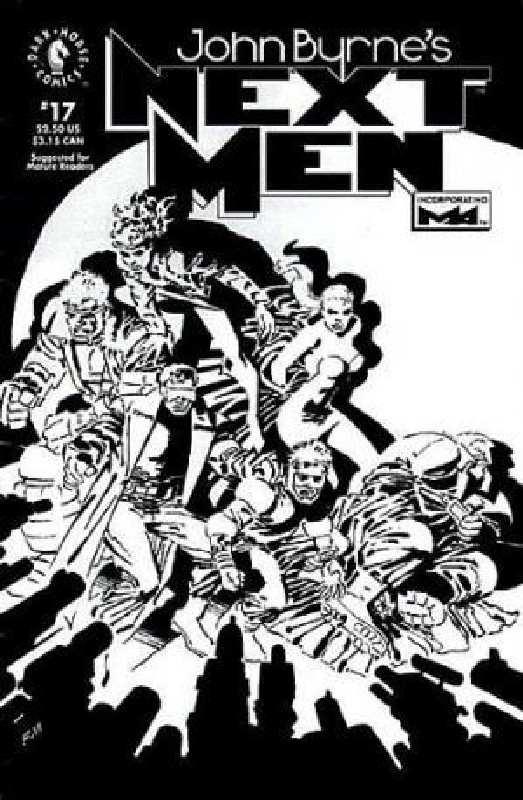 Cover of Next Men (Vol 1) John Byrnes #17. One of 250,000 Vintage American Comics on sale from Krypton!