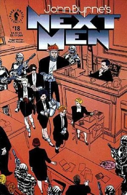 Cover of Next Men (Vol 1) John Byrnes #18. One of 250,000 Vintage American Comics on sale from Krypton!