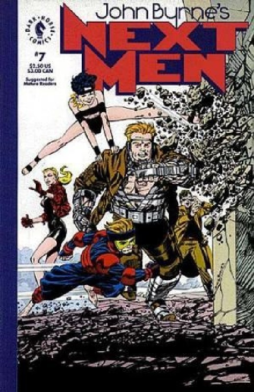 Cover of Next Men (Vol 1) John Byrnes #7. One of 250,000 Vintage American Comics on sale from Krypton!
