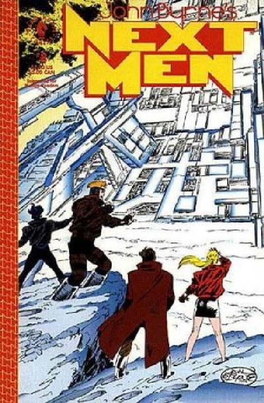 Cover of Next Men (Vol 1) John Byrnes #8. One of 250,000 Vintage American Comics on sale from Krypton!