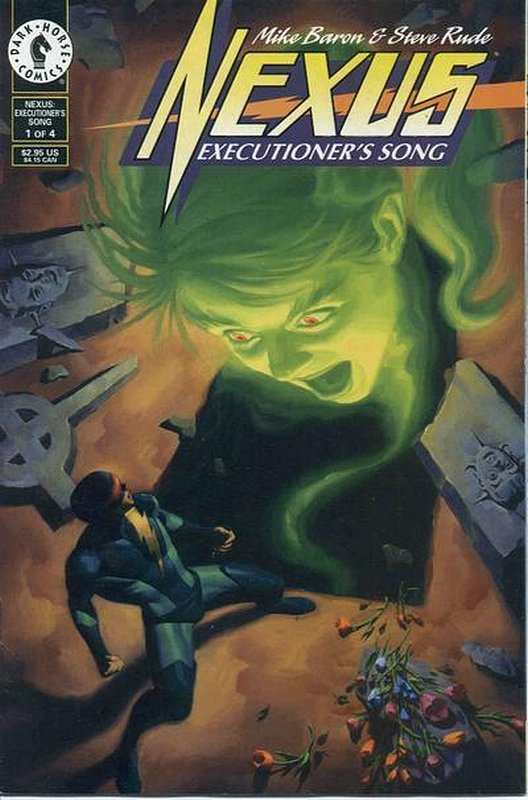 Cover of Nexus: Executioners Song (1996 Ltd) #1. One of 250,000 Vintage American Comics on sale from Krypton!