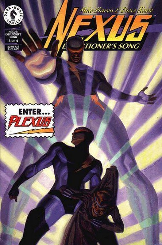 Cover of Nexus: Executioners Song (1996 Ltd) #3. One of 250,000 Vintage American Comics on sale from Krypton!