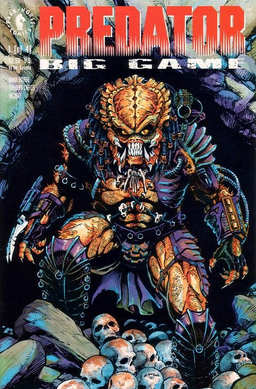 Cover of Predator: Big Game (1991 Ltd) #1. One of 250,000 Vintage American Comics on sale from Krypton!
