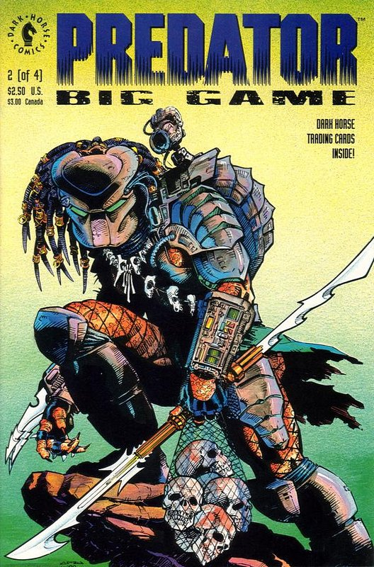 Cover of Predator: Big Game (1991 Ltd) #2. One of 250,000 Vintage American Comics on sale from Krypton!