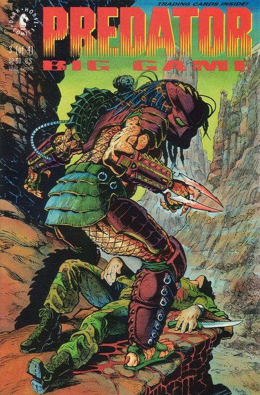 Cover of Predator: Big Game (1991 Ltd) #3. One of 250,000 Vintage American Comics on sale from Krypton!