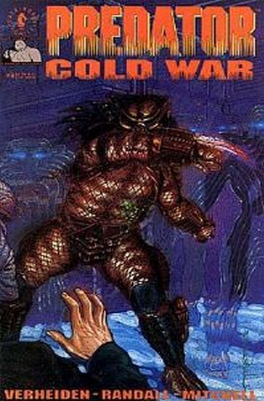 Cover of Predator: Cold War (1991 Ltd) #4. One of 250,000 Vintage American Comics on sale from Krypton!