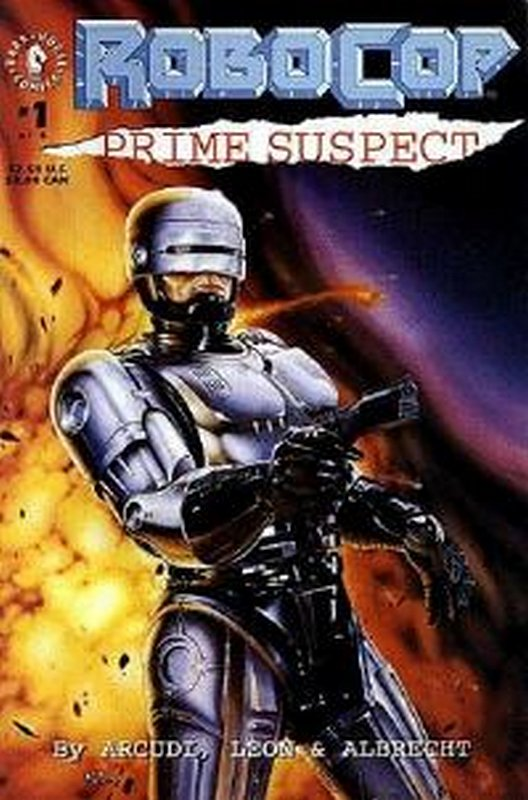 Cover of RoboCop: Prime Suspect (1992 Ltd) #1. One of 250,000 Vintage American Comics on sale from Krypton!