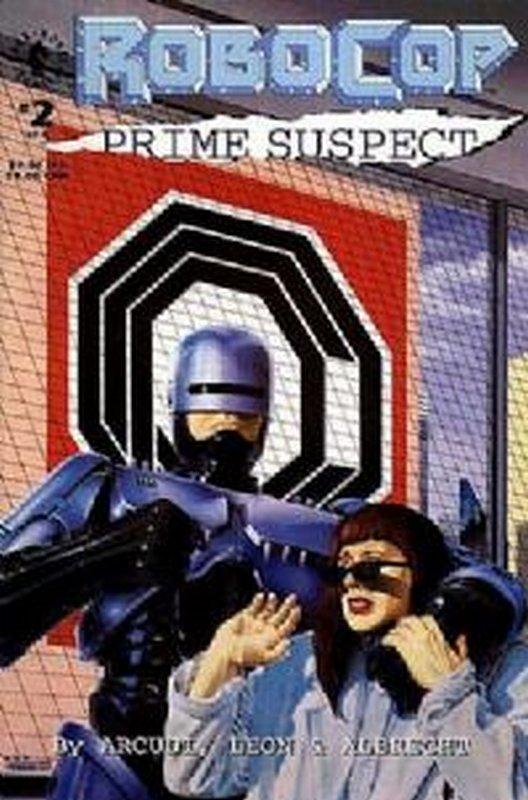 Cover of RoboCop: Prime Suspect (1992 Ltd) #2. One of 250,000 Vintage American Comics on sale from Krypton!