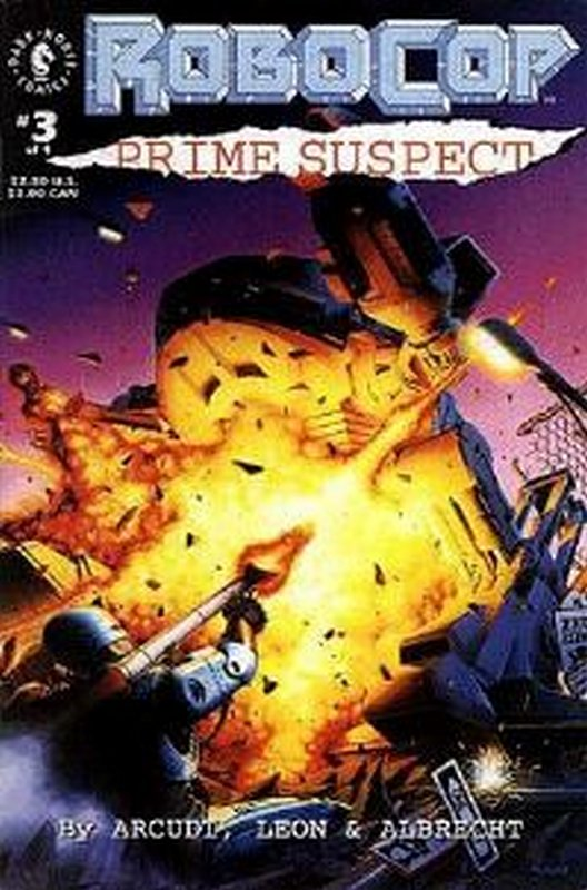 Cover of RoboCop: Prime Suspect (1992 Ltd) #3. One of 250,000 Vintage American Comics on sale from Krypton!