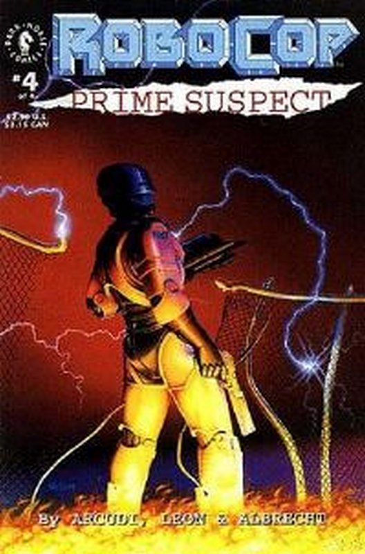 Cover of RoboCop: Prime Suspect (1992 Ltd) #4. One of 250,000 Vintage American Comics on sale from Krypton!