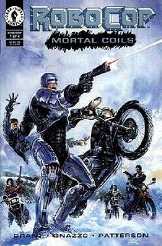 Cover of RoboCop: Mortal Coils (1993 Ltd) #1. One of 250,000 Vintage American Comics on sale from Krypton!