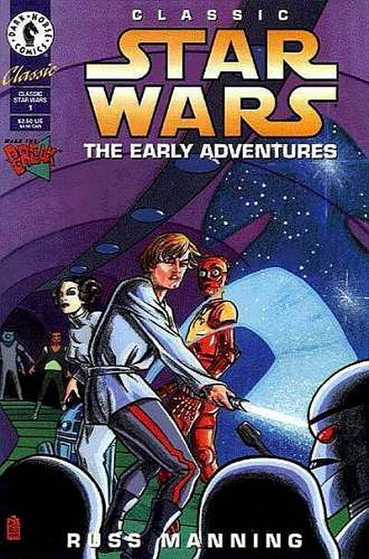 Cover of Classic Star Wars: The Early Adventures #1. One of 250,000 Vintage American Comics on sale from Krypton!
