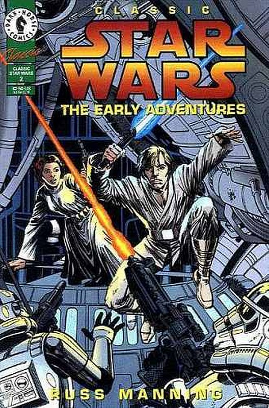 Cover of Classic Star Wars: The Early Adventures #2. One of 250,000 Vintage American Comics on sale from Krypton!