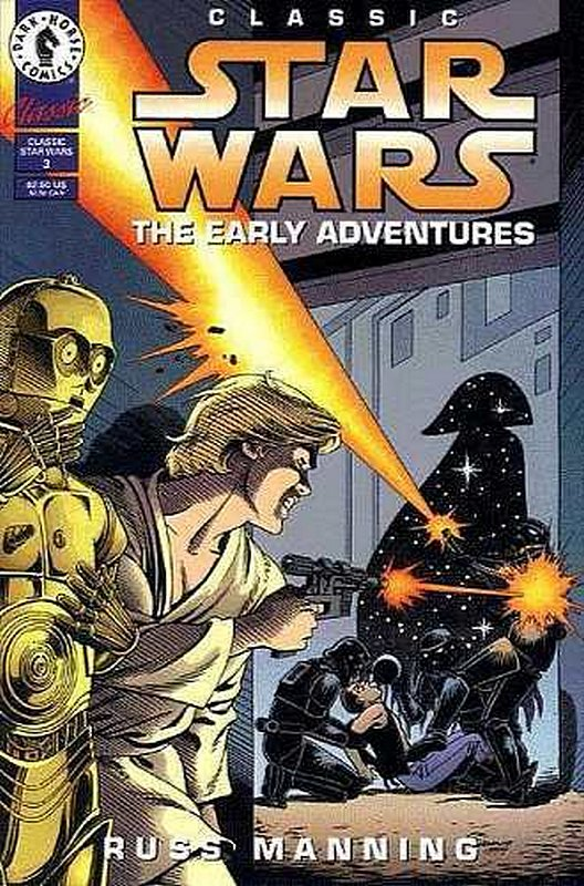 Cover of Classic Star Wars: The Early Adventures #3. One of 250,000 Vintage American Comics on sale from Krypton!