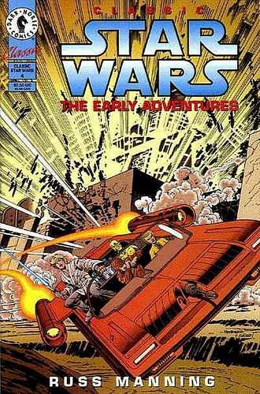 Cover of Classic Star Wars: The Early Adventures #4. One of 250,000 Vintage American Comics on sale from Krypton!