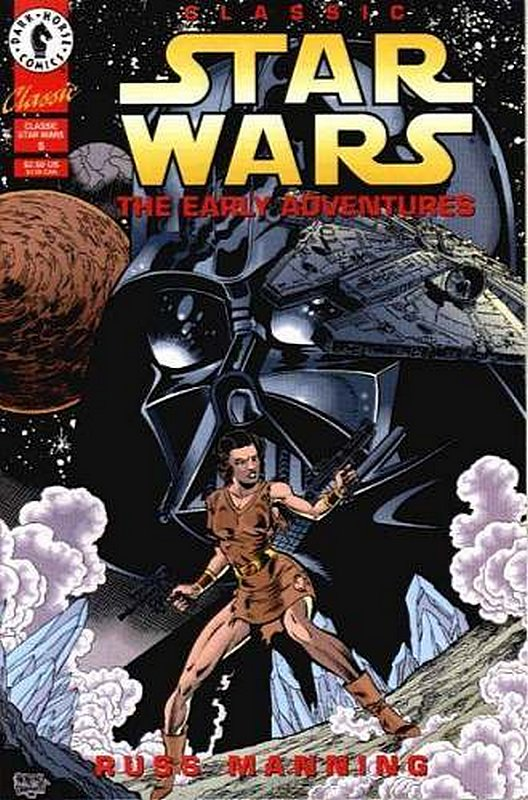 Cover of Classic Star Wars: The Early Adventures #5. One of 250,000 Vintage American Comics on sale from Krypton!