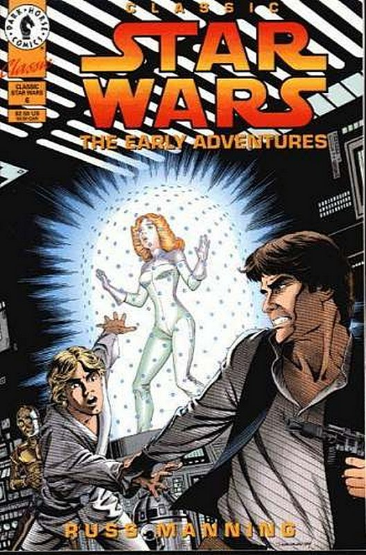 Cover of Classic Star Wars: The Early Adventures #6. One of 250,000 Vintage American Comics on sale from Krypton!