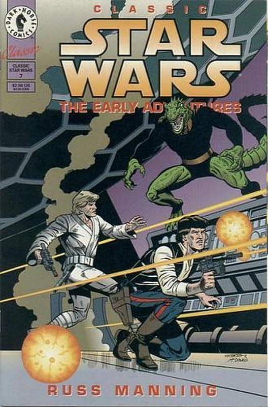 Cover of Classic Star Wars: The Early Adventures #7. One of 250,000 Vintage American Comics on sale from Krypton!