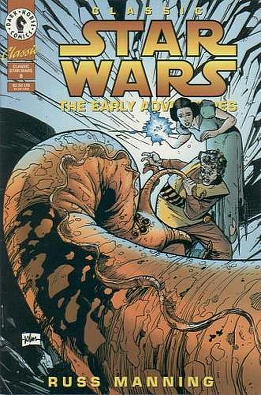 Cover of Classic Star Wars: The Early Adventures #8. One of 250,000 Vintage American Comics on sale from Krypton!