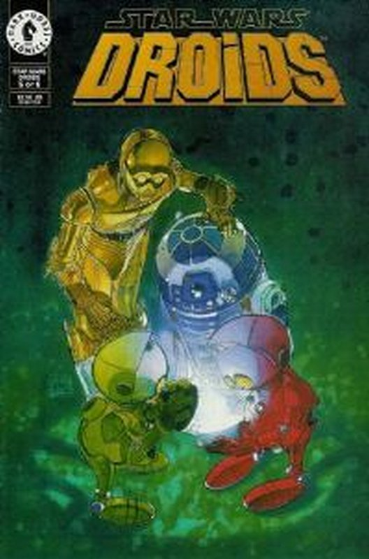 Cover of Star Wars: Droids (Vol 1) (1994 Ltd) #5. One of 250,000 Vintage American Comics on sale from Krypton!