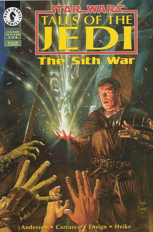 Cover of Star Wars: Tales of the Jedi-The Sith War #2. One of 250,000 Vintage American Comics on sale from Krypton!