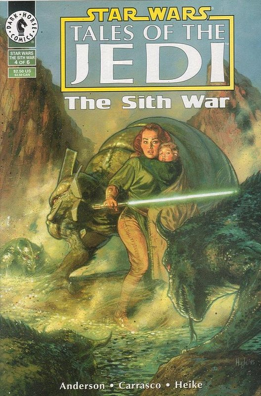Cover of Star Wars: Tales of the Jedi-The Sith War #4. One of 250,000 Vintage American Comics on sale from Krypton!