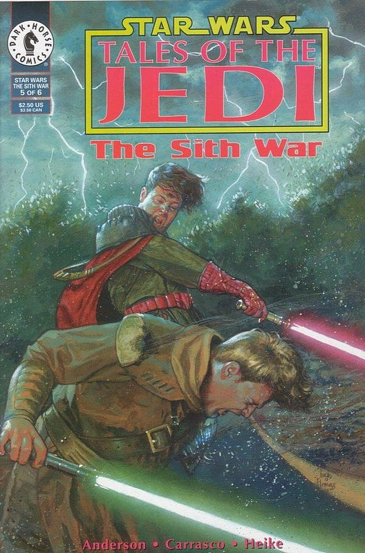 Cover of Star Wars: Tales of the Jedi-The Sith War #5. One of 250,000 Vintage American Comics on sale from Krypton!