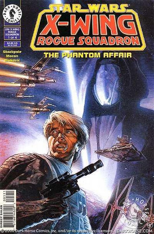 Cover of Star Wars: X-W Squadron-Phantom Affair #1. One of 250,000 Vintage American Comics on sale from Krypton!