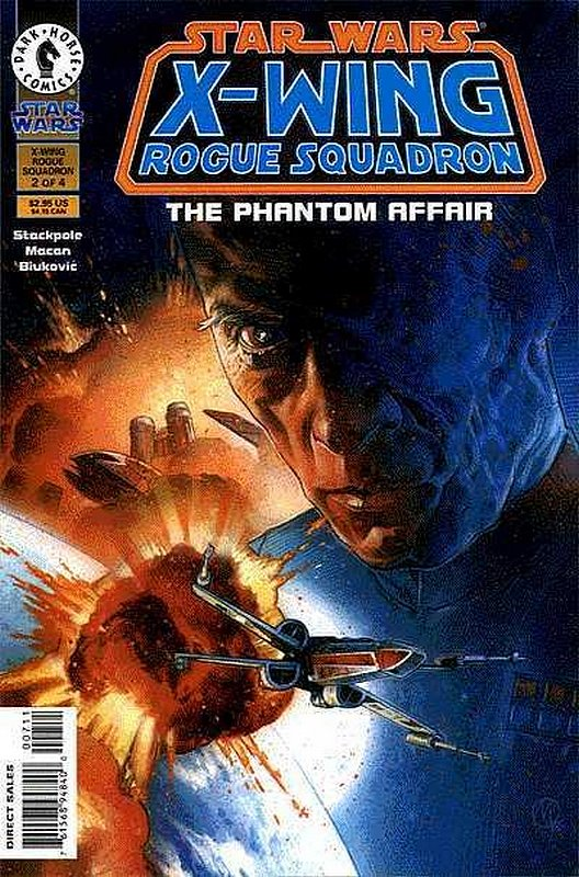 Cover of Star Wars: X-W Squadron-Phantom Affair #2. One of 250,000 Vintage American Comics on sale from Krypton!